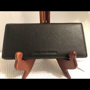 Aimee Kestenberg Wallet Check Book Cover Black
